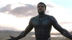 "تشادويك بوزمان بطل فيلم ""بلاك بانثر"" Black Panther"