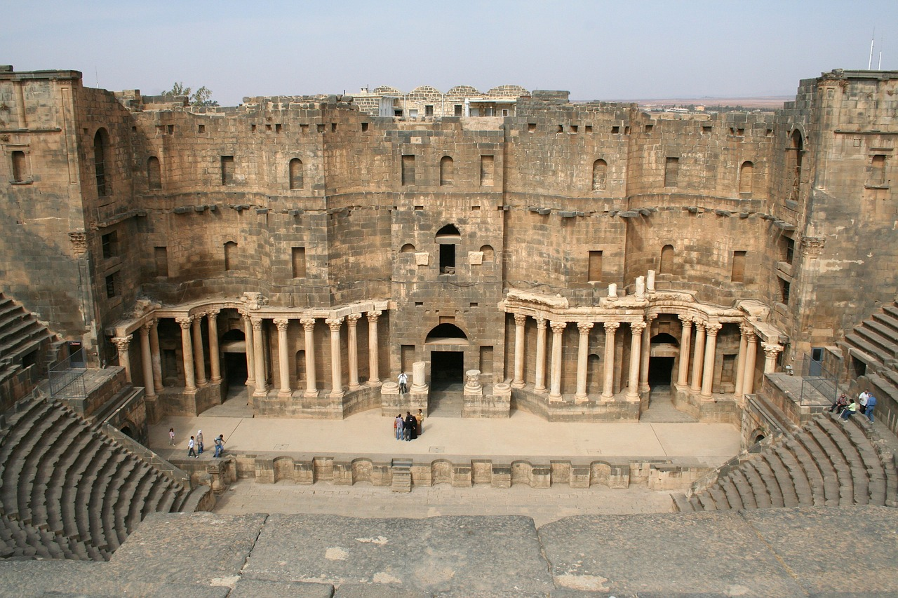 مدرج بصرة الروماني سوريا