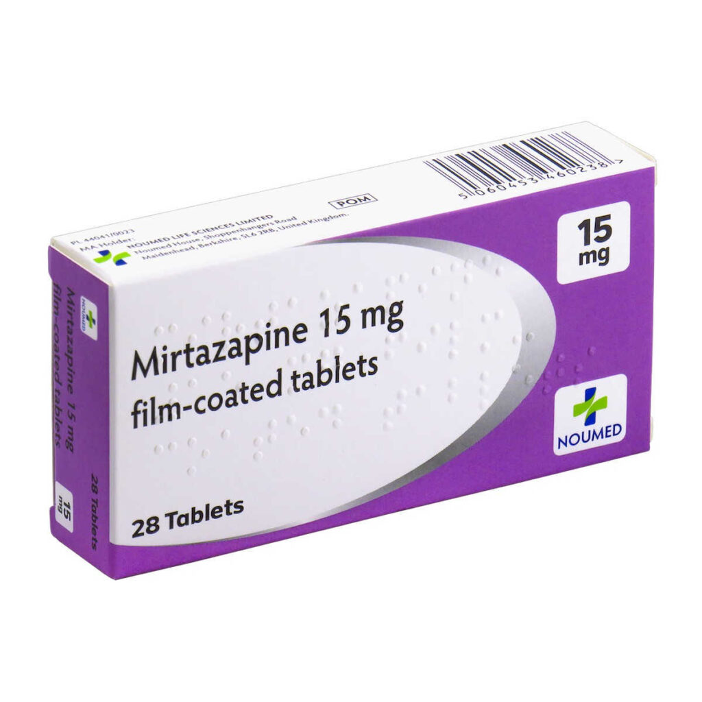 دواء ميرتازابين
