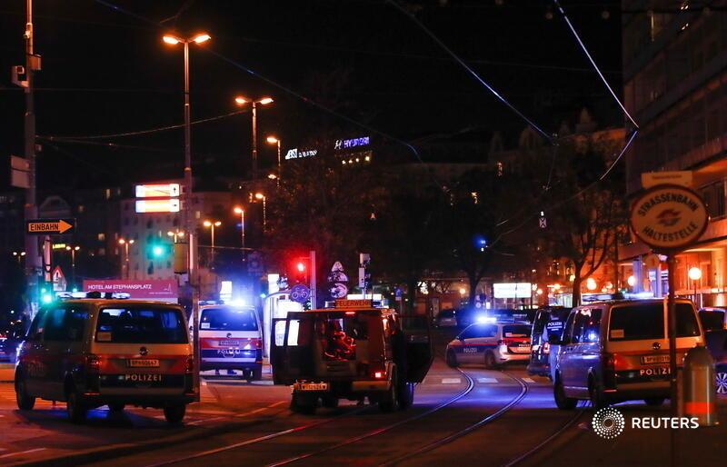 هجوم على كنيس في النمسا