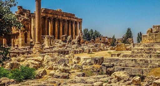 الآثار الرومانية في بعلبك