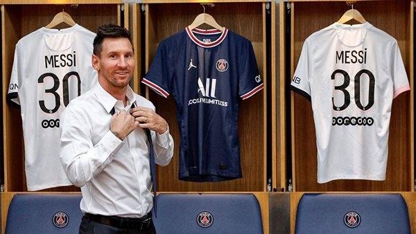 سعر قميص ميسي مع باريس سان جيرمان