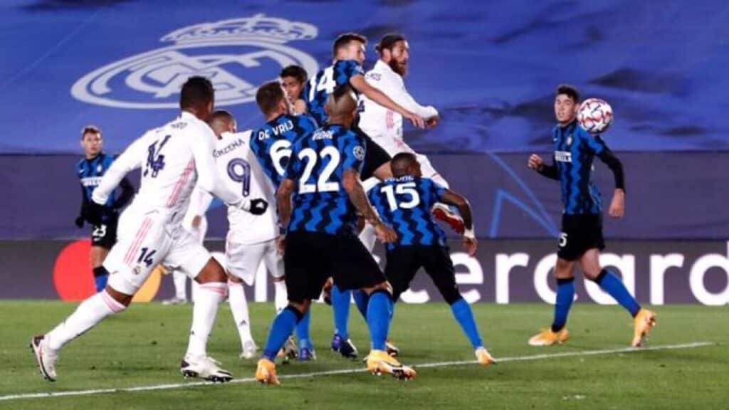 مباشر مباراة ريال مدريد وانتر ميلان