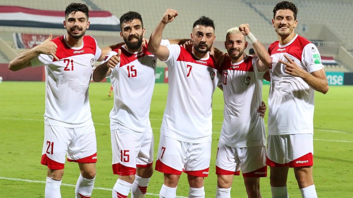 مباراة سوريا و الامارات