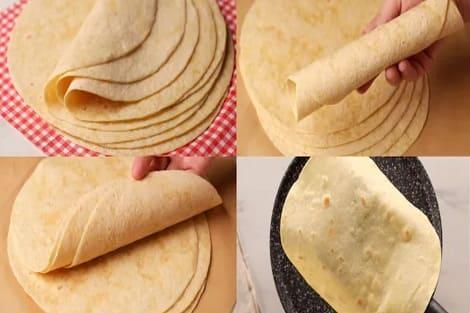 خبز الشاورما