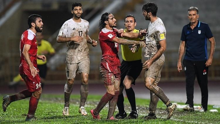 مباراة سوريا و ايران